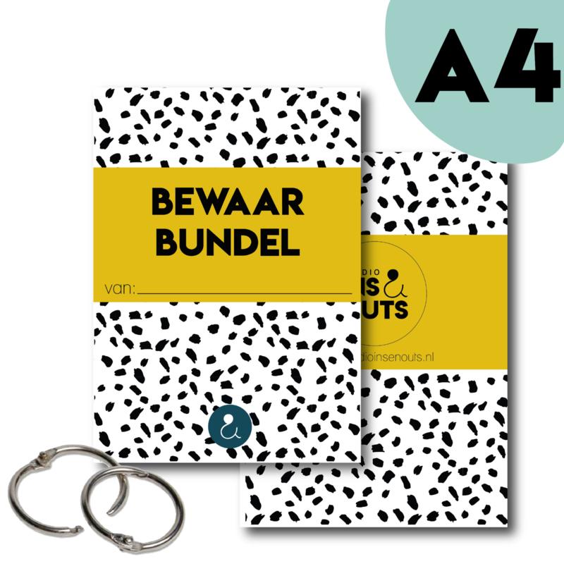Bewaarbundel A4 | okergeel