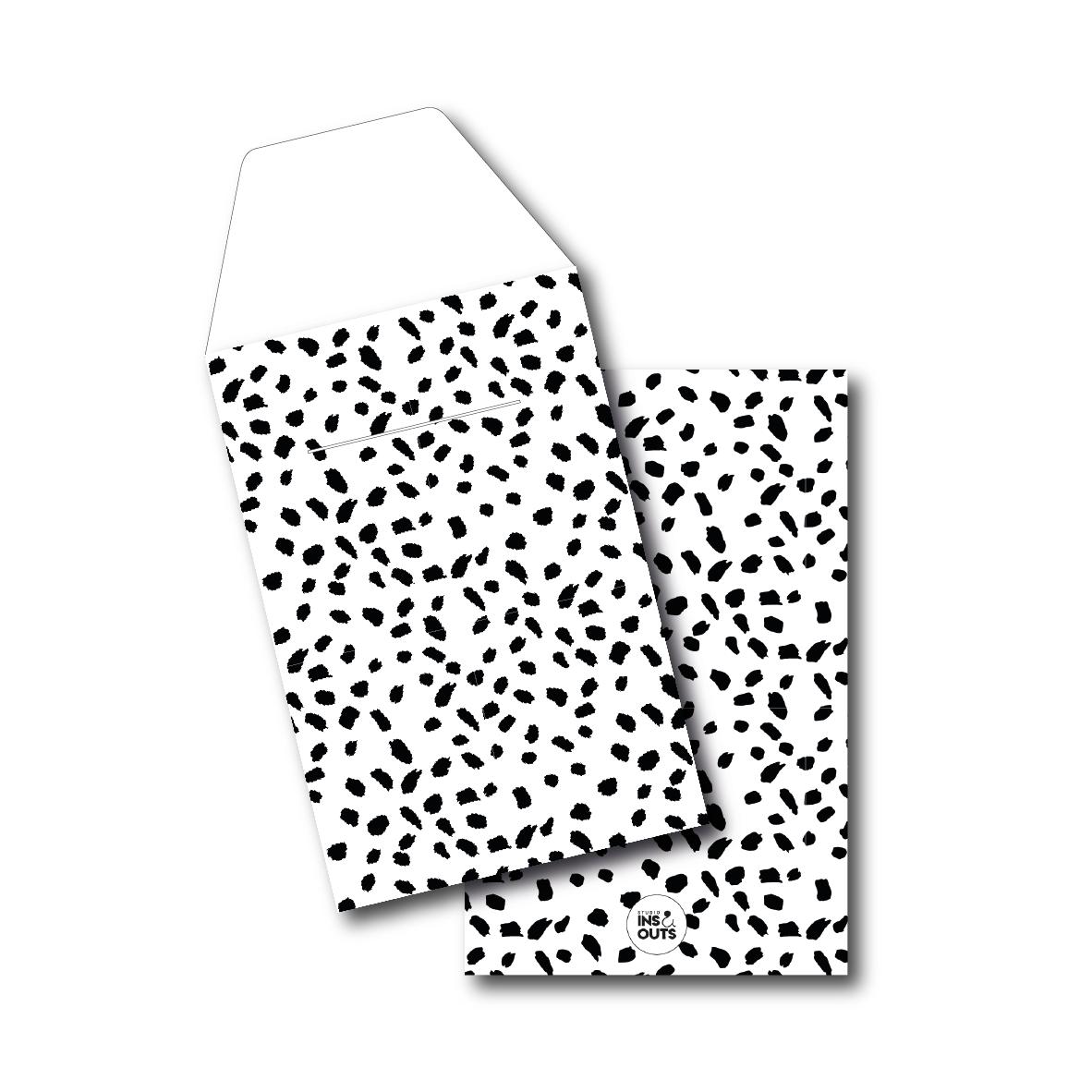 Set van 5 cadeau zakjes | a6 | big dots