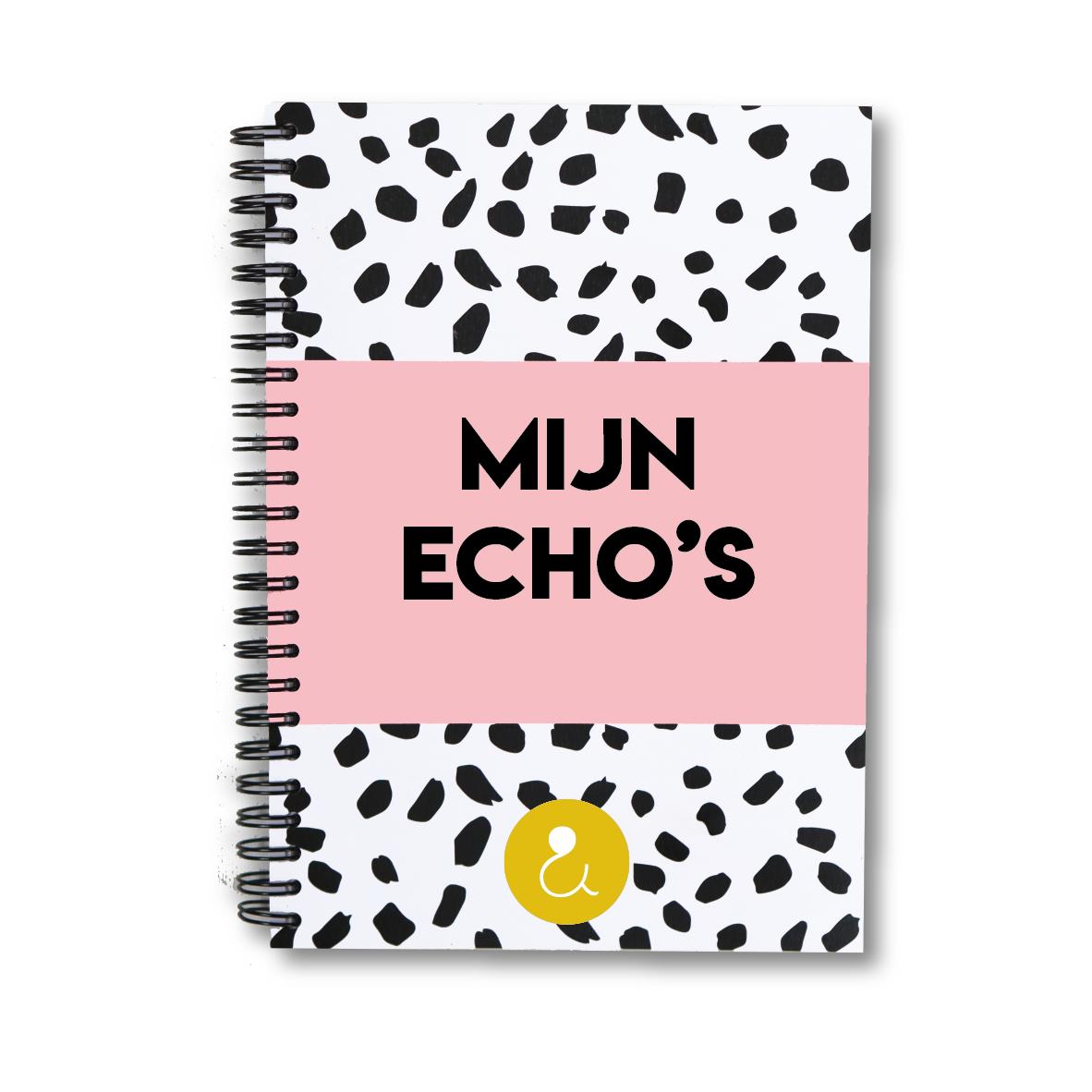 Echo boekje | roze