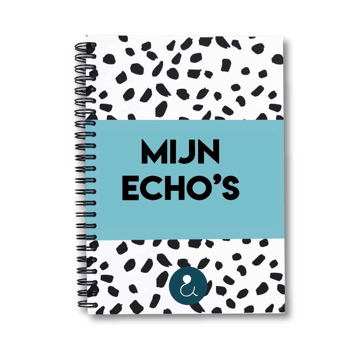 Echo boekje | lichtblauw