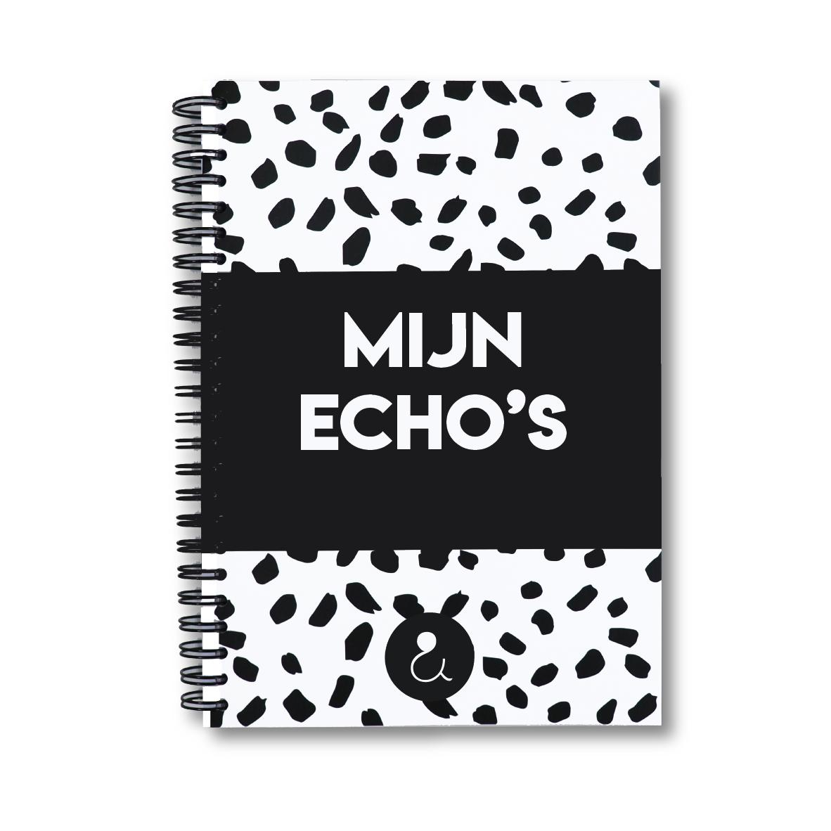 Echo boekje | monochrome