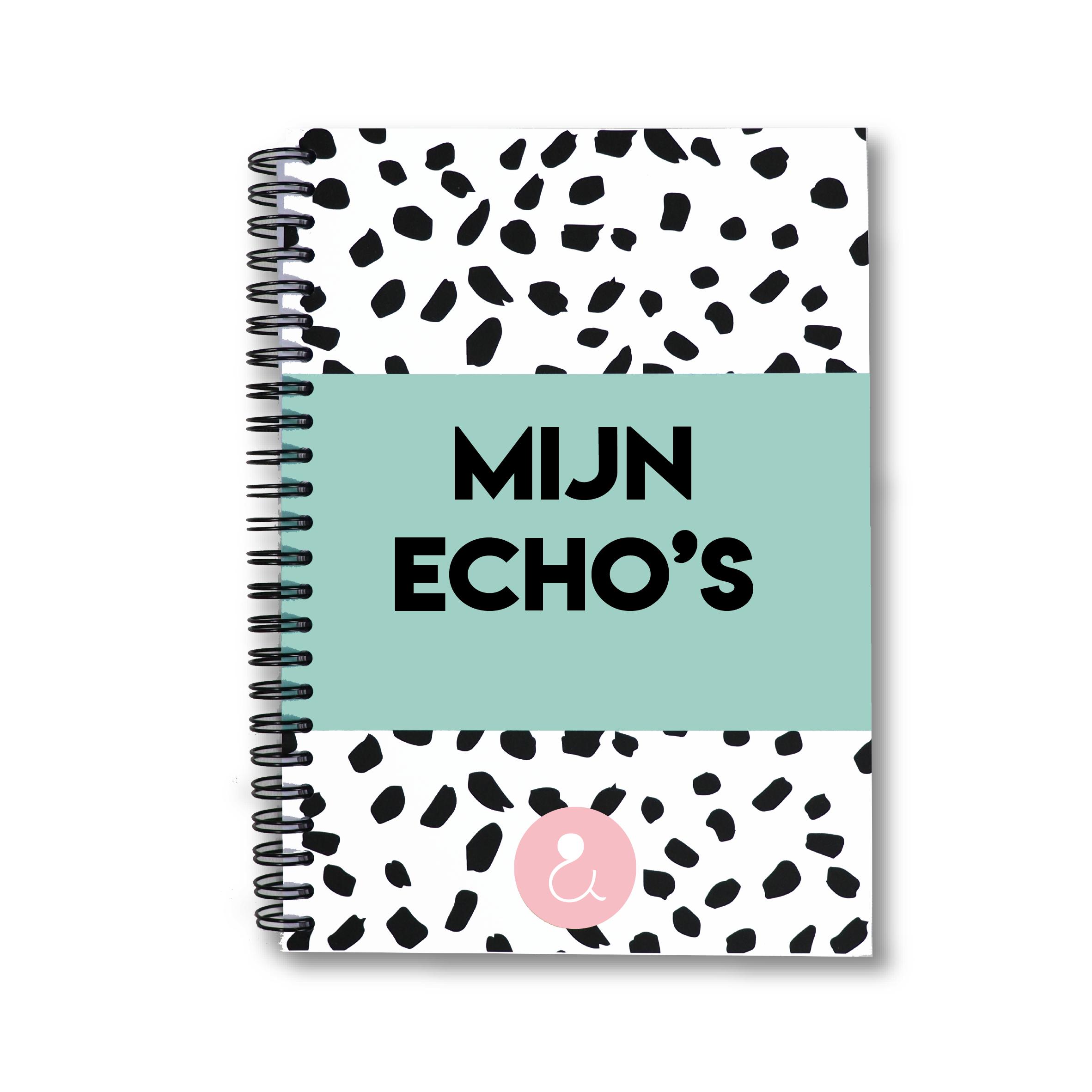 Echo boekje | mint