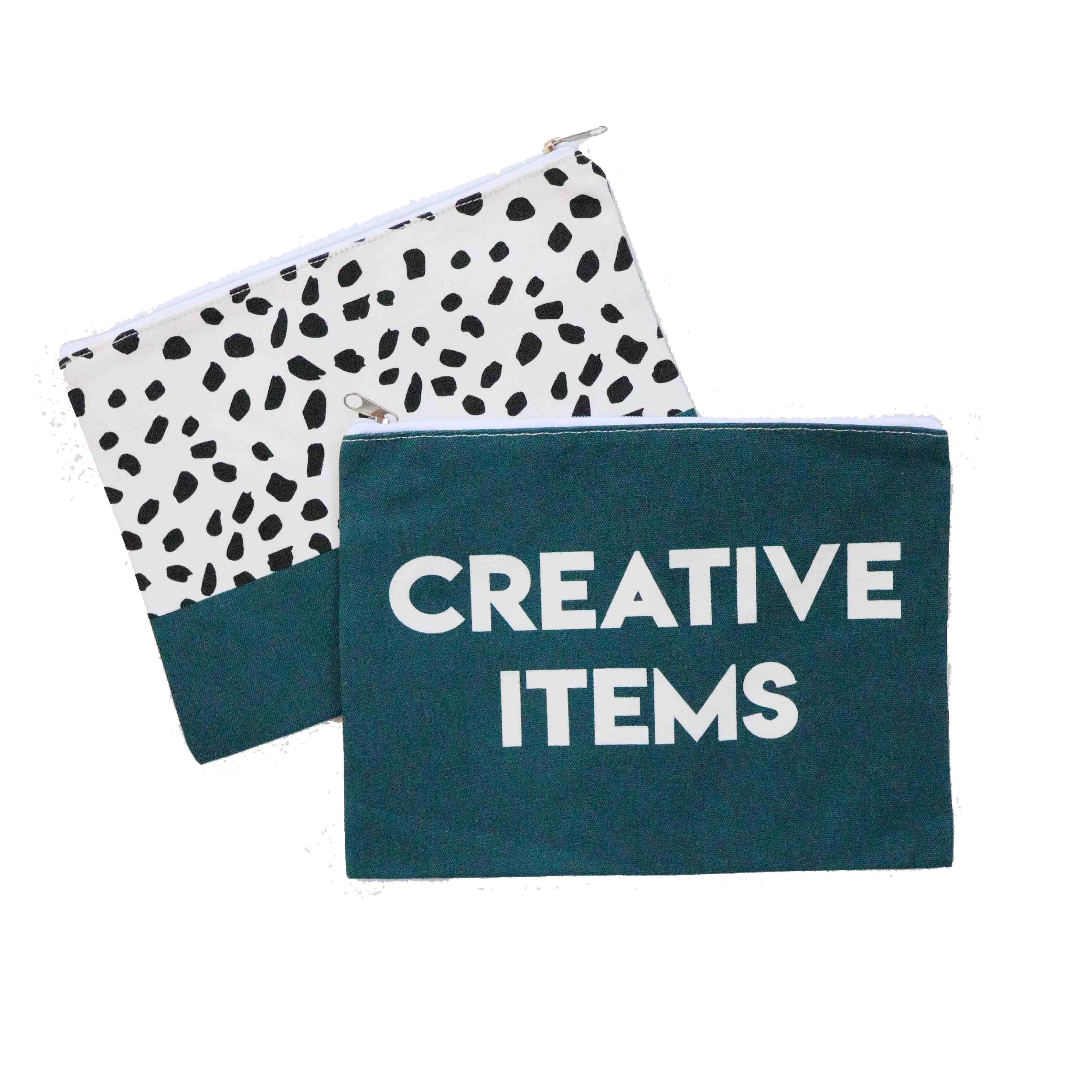 Etuis 'Creative Items' - Donkerblauw