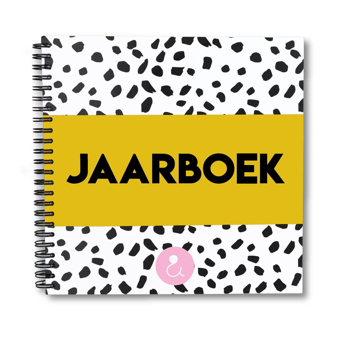 Jaarboek | okergeel