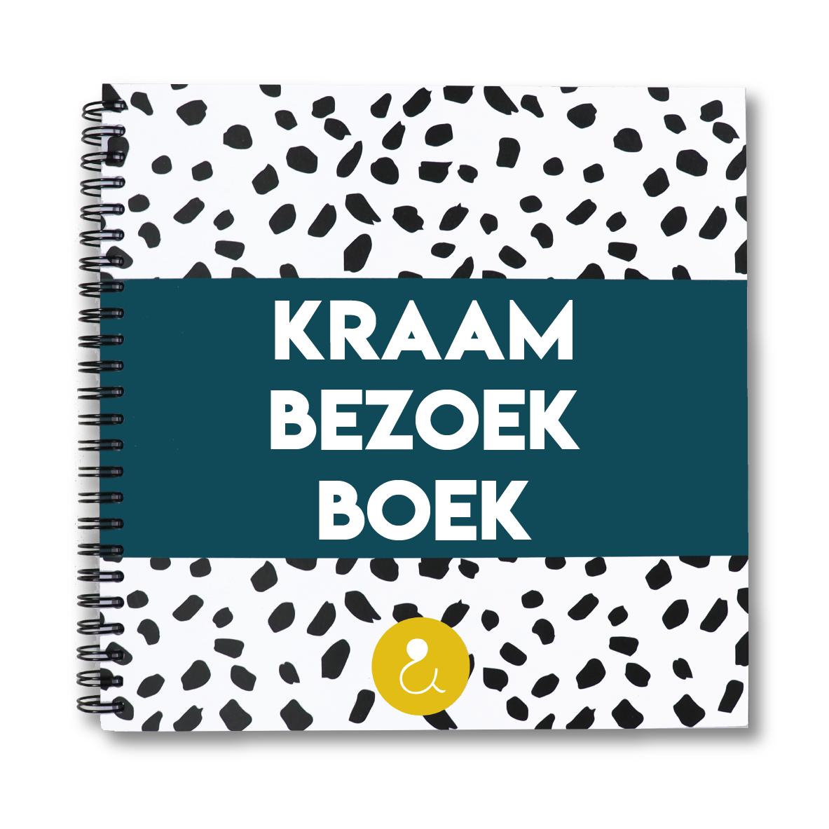 Kraambezoekboek | donkerblauw