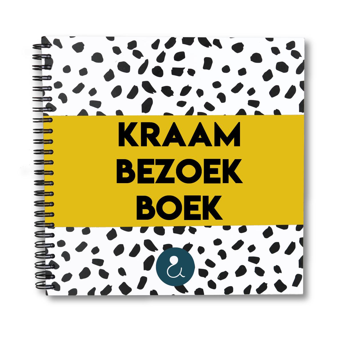 Kraambezoekboek | okergeel