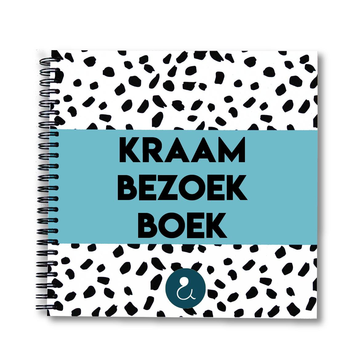 Kraambezoekboek   lichtblauw