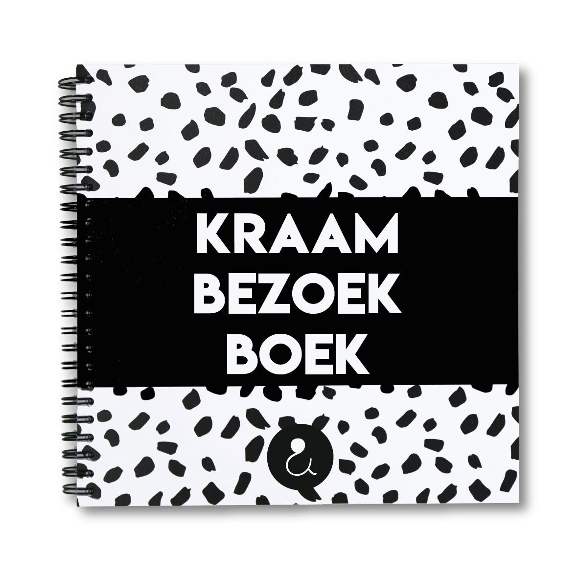Kraambezoekboek | monochrome
