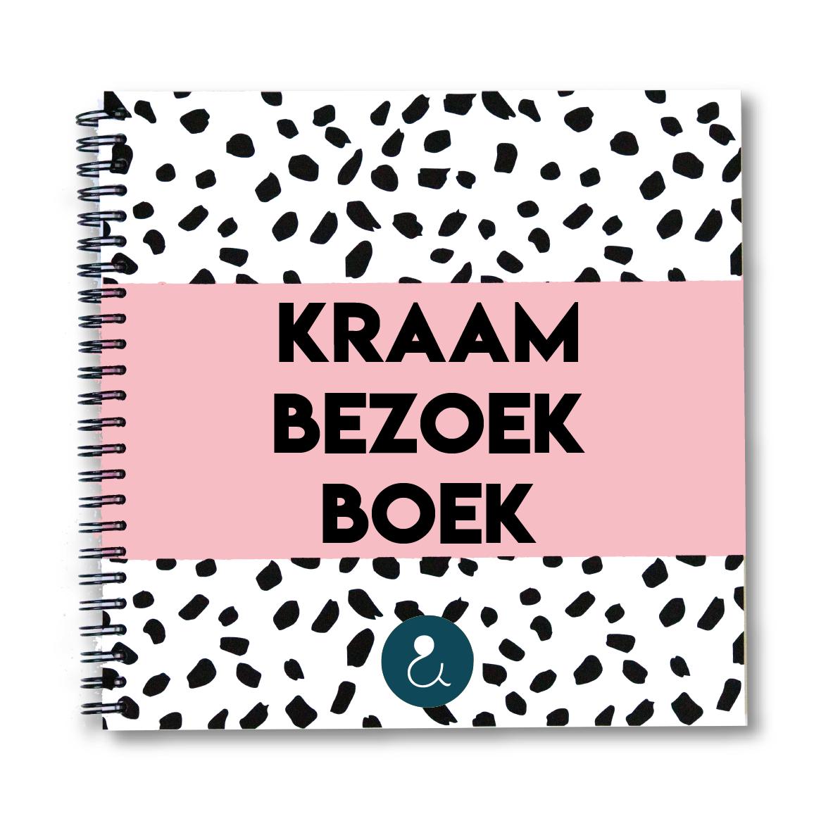 Kraambezoekboek | roze