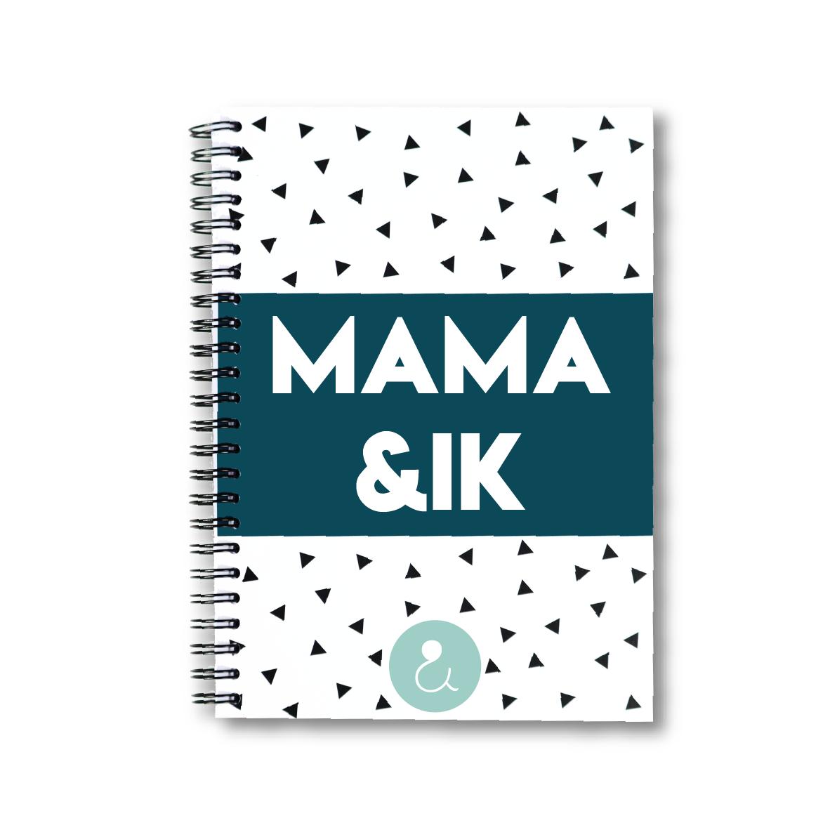 Mama&ik   invulboek voor mama (mint stip)