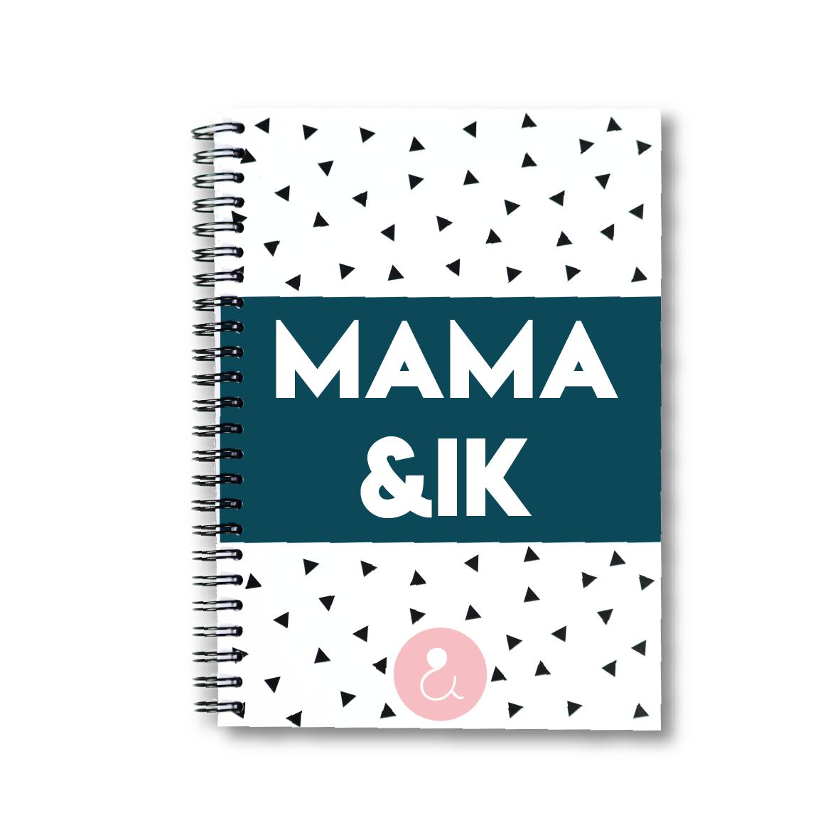 Mama&ik | invulboek voor mama (roze stip)