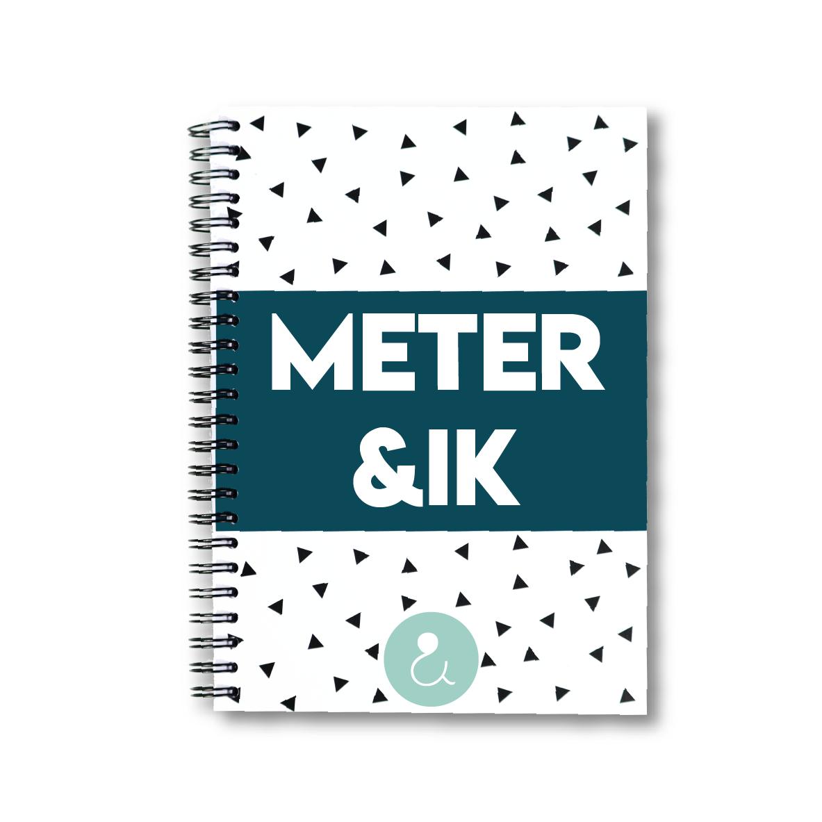 Meter&ik   invulboek voor de meter (mint stip)