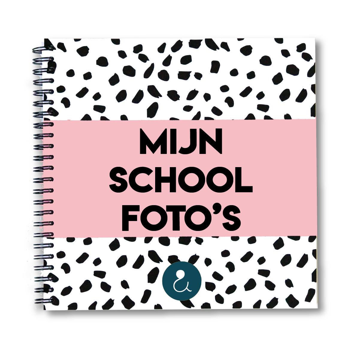 Schoolfotoboek   roze (Nederland)