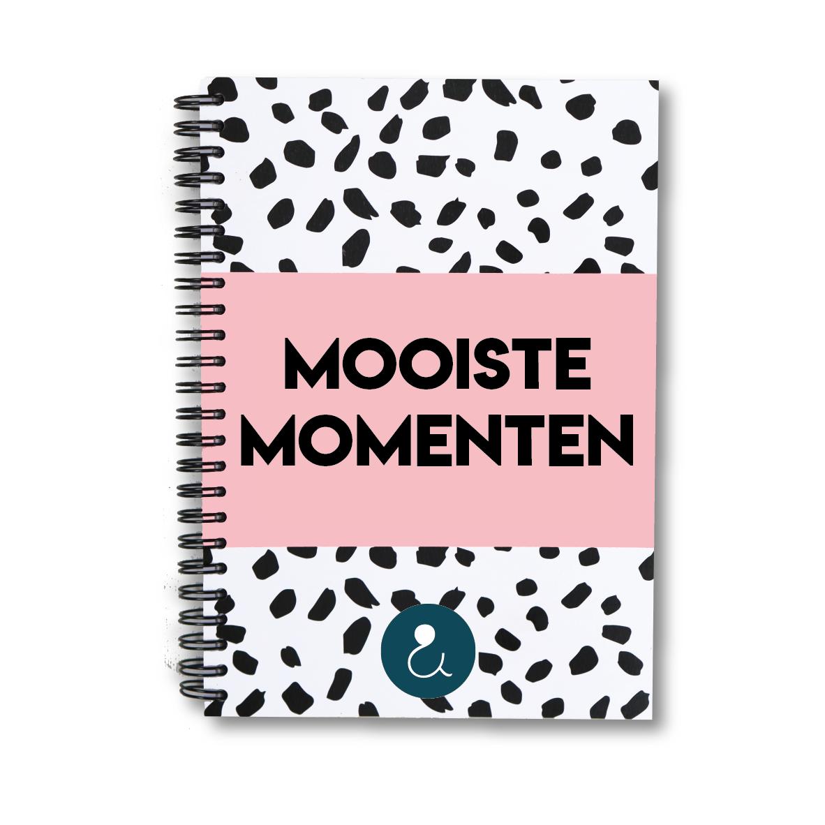 Mooiste momenten plakboek a5 | roze