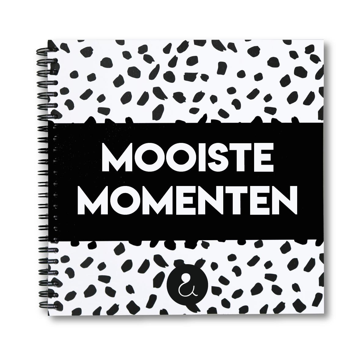 Mooiste momenten plakboek | monochrome