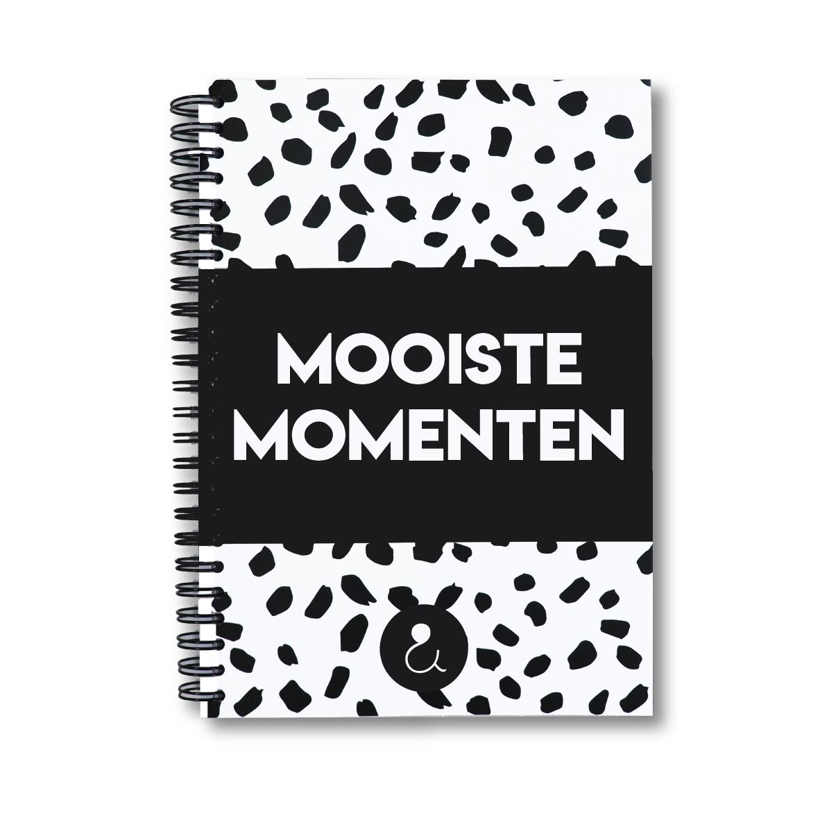 Mooiste momenten plakboek a5   monochrome