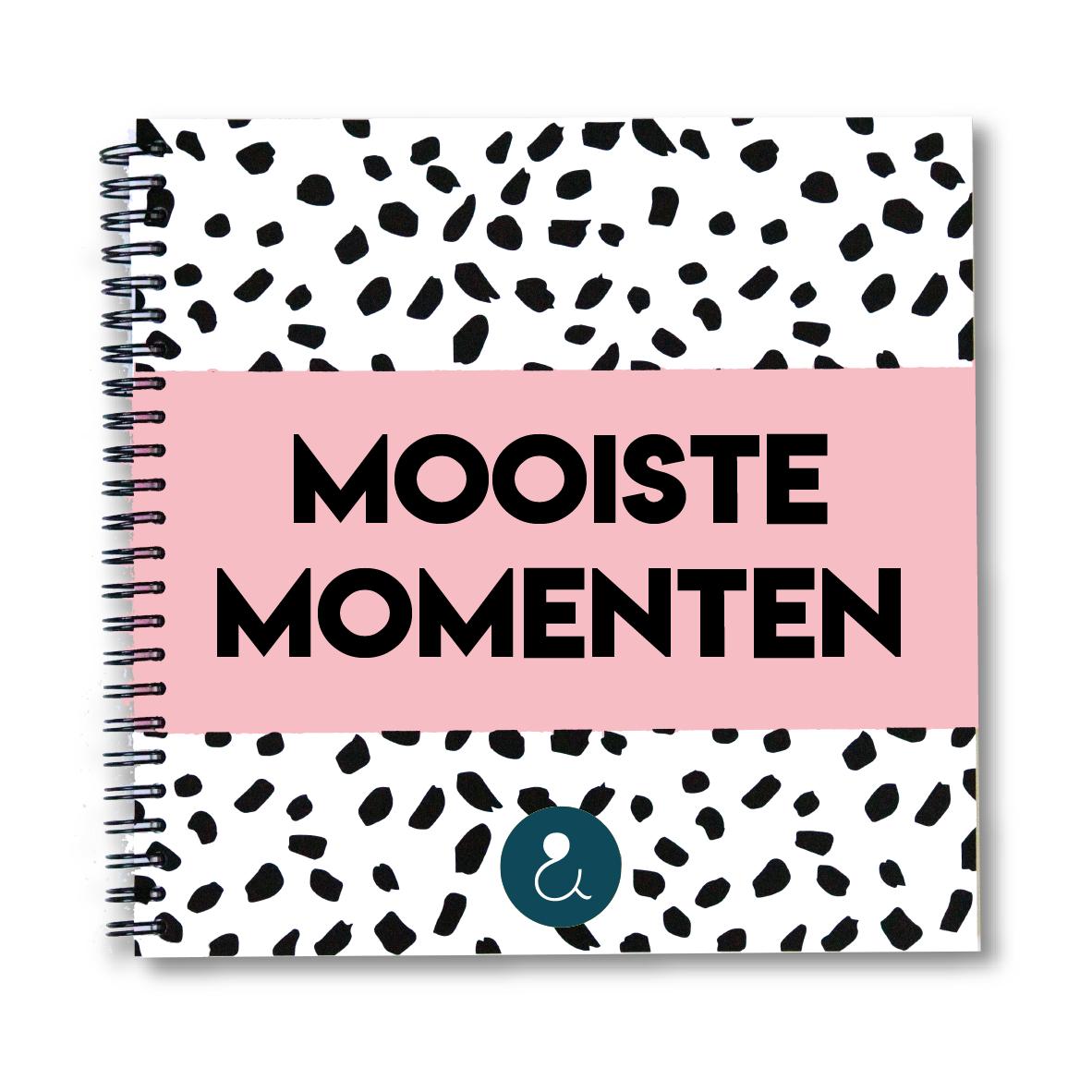 Mooiste Momenten plakboek | roze