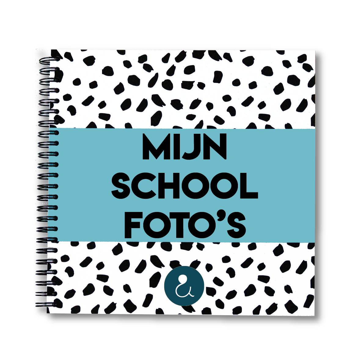 Schoolfotoboek   lichtblauw (België)