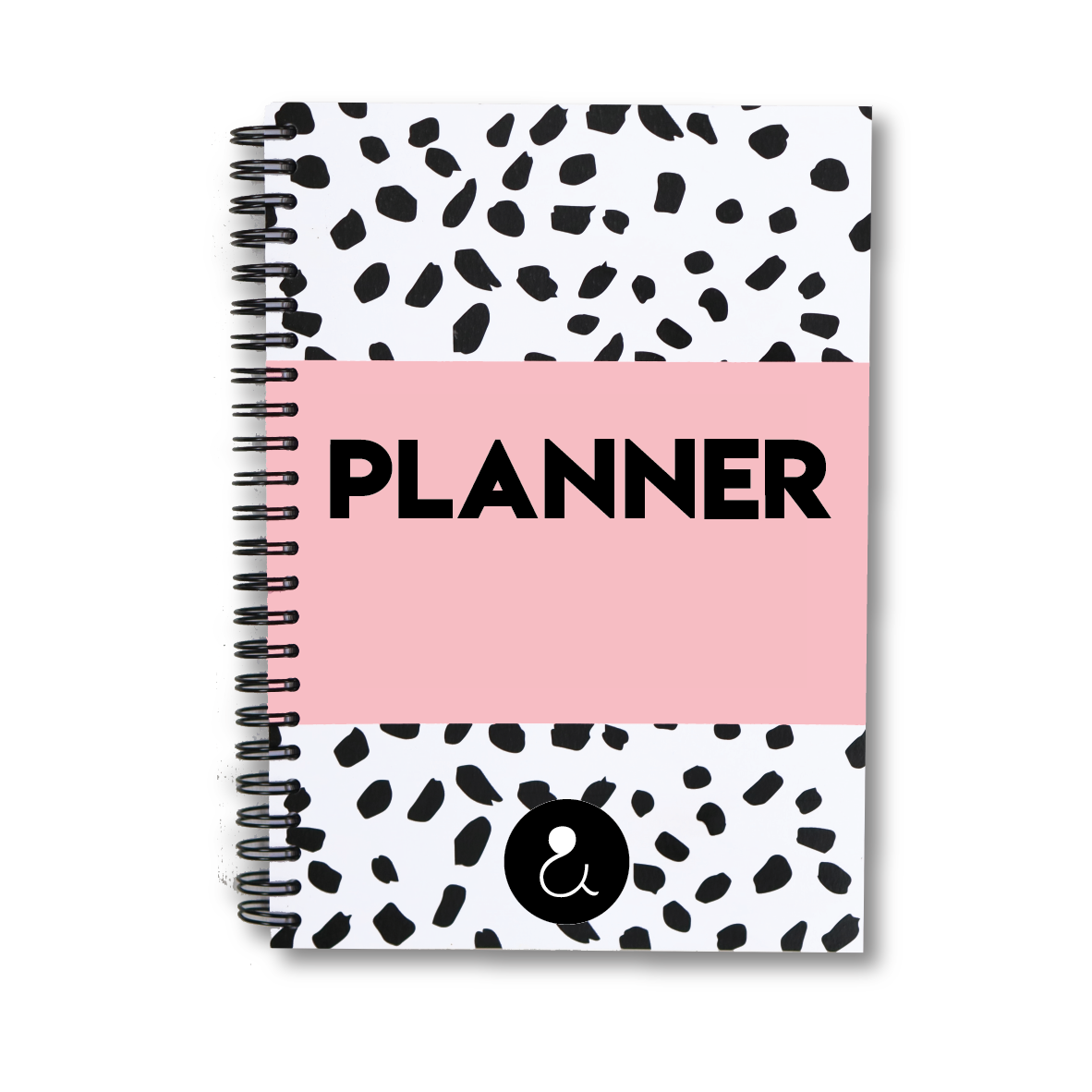 Planner A5 met stickers | roze
