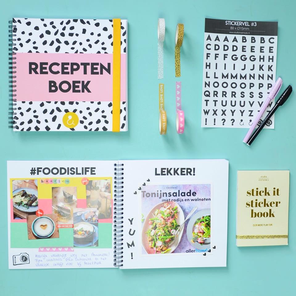 receptenboekrozevoorbeeld