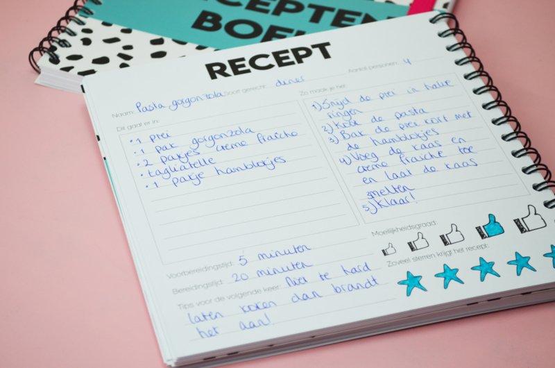 receptenboekvoorbeeldeenvoudig