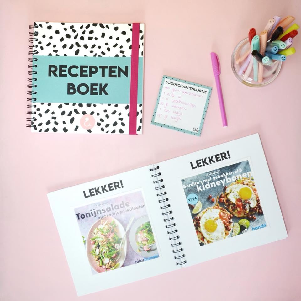 receptenboekvoorbeeldplakken