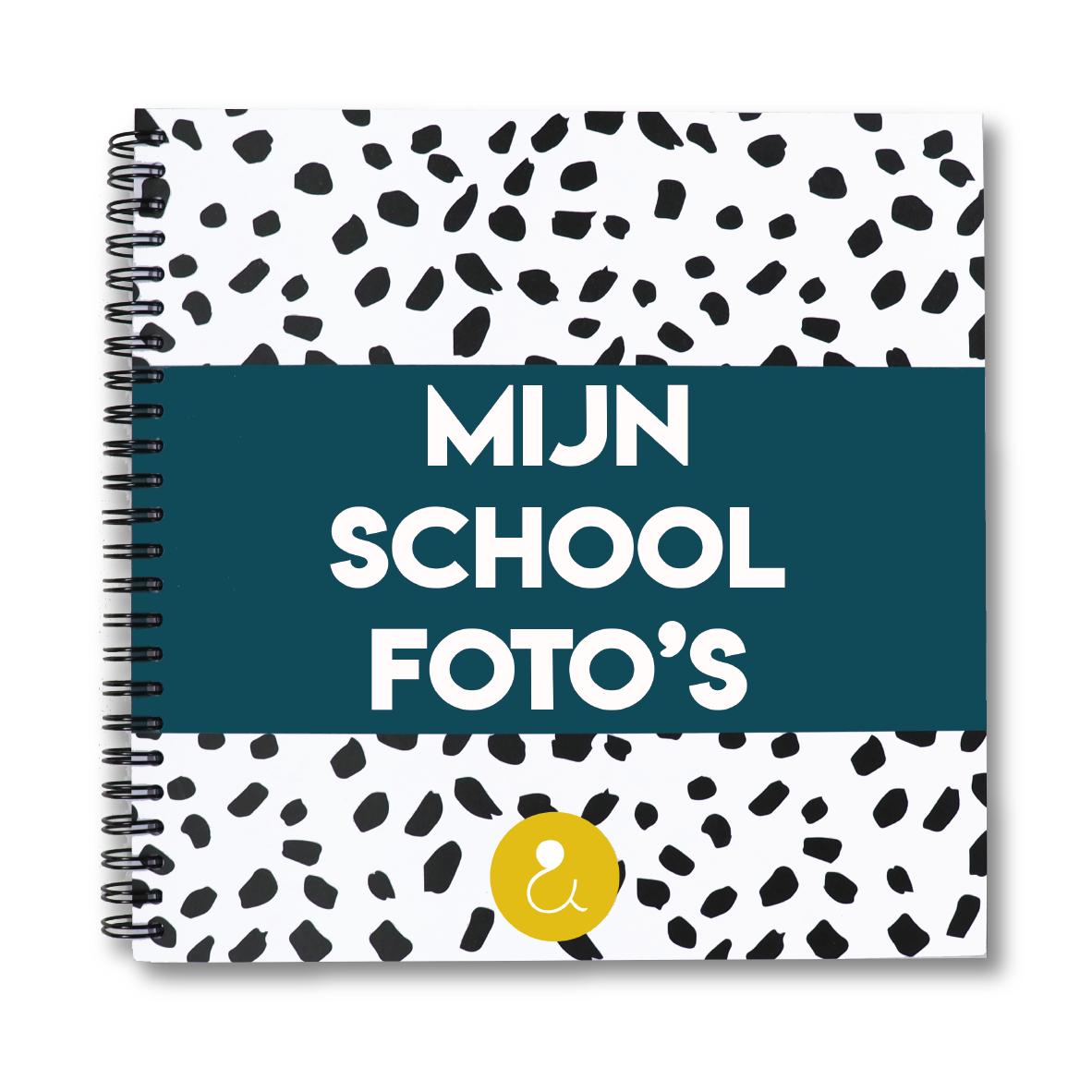 Schoolfotoboek | donkerblauw (Nederland)
