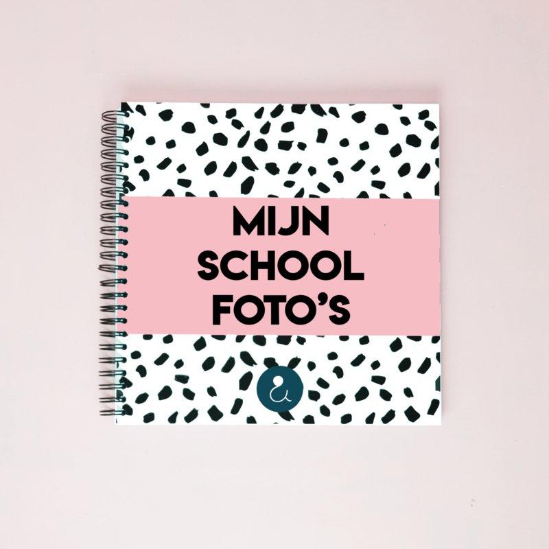 schoolfotoboekroze