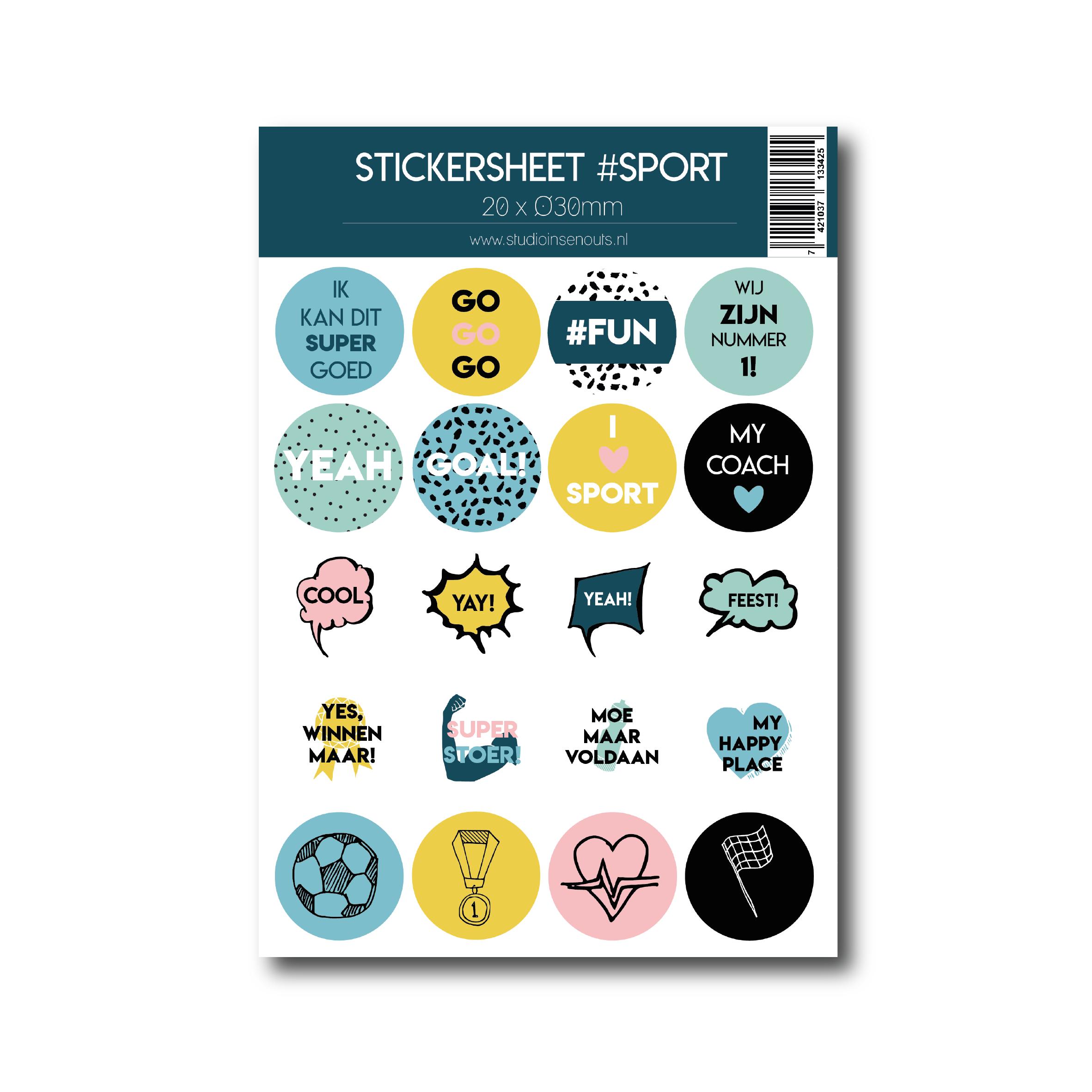 Stickervel | Sport
