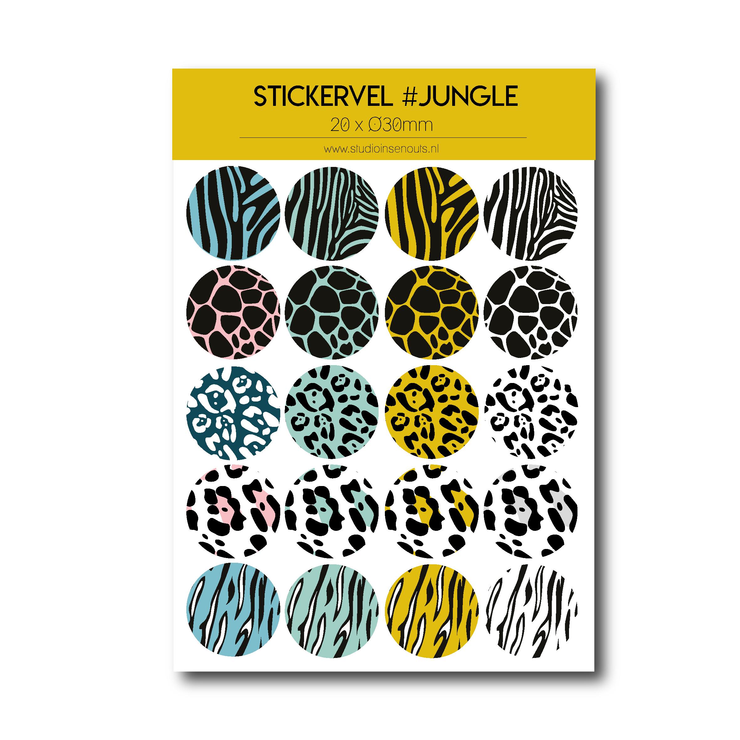 Stickervel | Jungle
