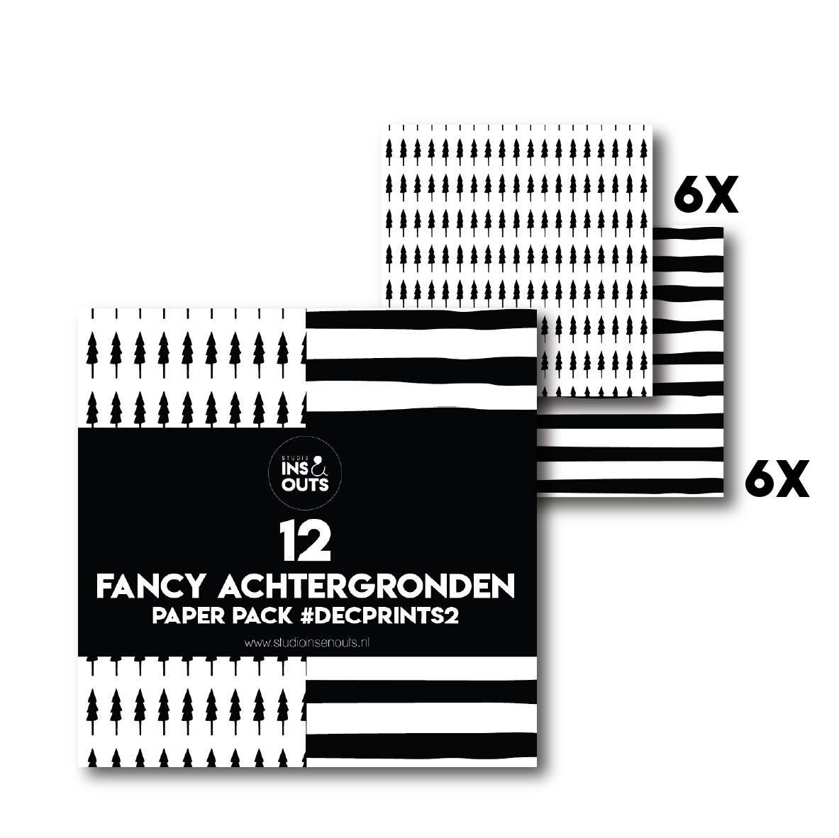 Paper Pack Kerst 2020 Prints 2