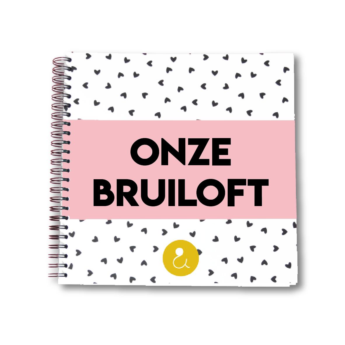 Plakboek voor je bruiloft   roze