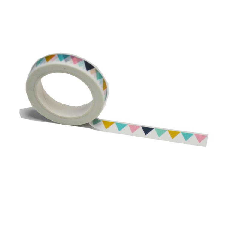 Feestelijke washi tape: Vlaggetjes