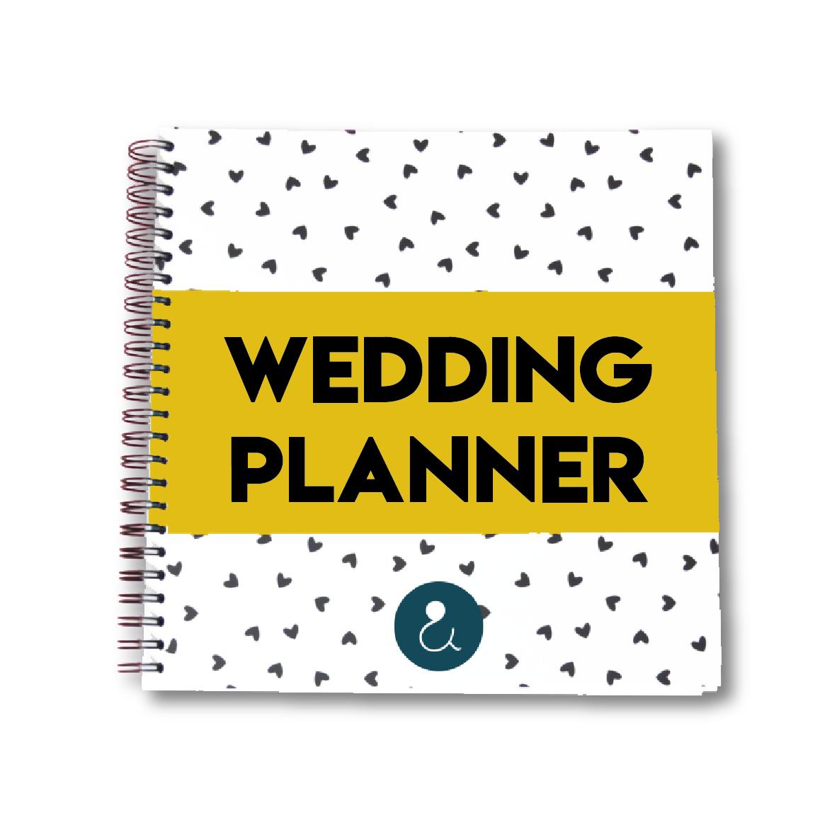 Weddingplanner | okergeel