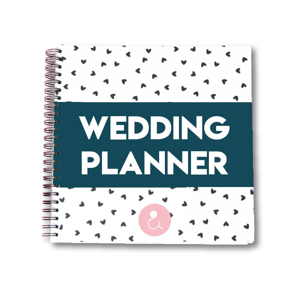 Weddingplanner | donkerblauw